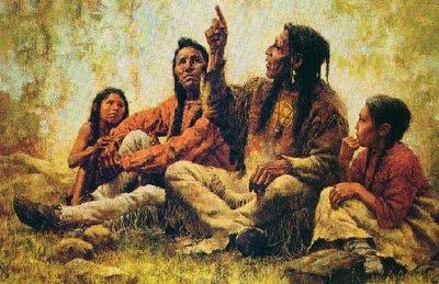 pintura indios hopi